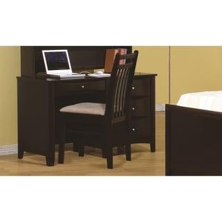 Coaster Company Phoenix Cappuccino Computer Desk