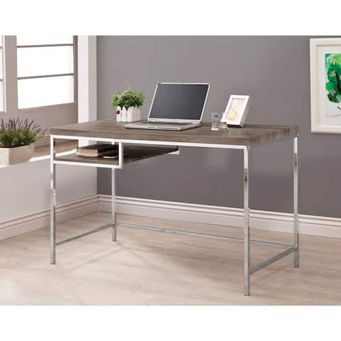 Coaster Company Furniture Weathered Grey Writing Desk