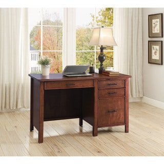 Wood Red/Brown Writing Desk