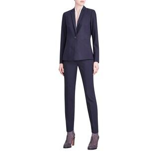 Elie Tahari Women's Alma Blue Wool Blazer