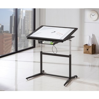 Coaster Black Adjustable Drafting Desk