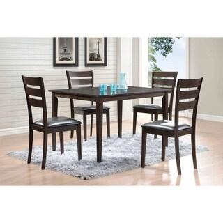 Grey 5-piece Dining Set