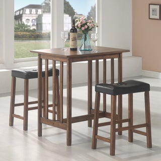 Coaster Company Brown Wood 3-piece Dining Set