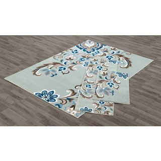 VCNY Pipa 3 Piece Area Rug Set