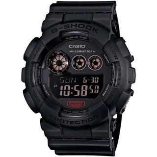 Casio Men's G-Shock GD120MB-1 Black Resin Quartz Watch