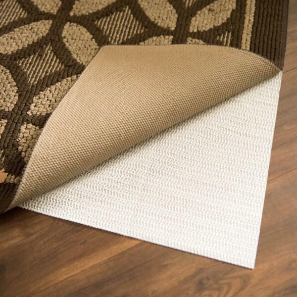 Linenspa Non Slip White Rubber Indoor Area Rug Pad 9 X