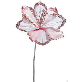 20-inch Pink Amaryllis with 9-inch Flower (Pack of 3)