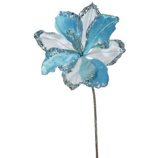 20-inch Sea Blue Amaryllis with 9-inch Flower (Pack of 3)