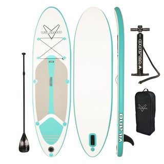 Link to Vilano Journey 10 ft. Infatable SUP Stand-up Paddle Board Kit Similar Items in Boats & Kayaks