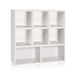 Milan Modular Storage System Eco Bookcase Shelving by Way Basics LIFETIME GUARANTEE
