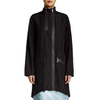 Elie Tahari Molly Black Trenchcoat