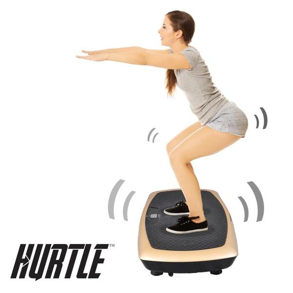 Standing Vibration Fitness Machine Vibrating Platform Exercise /& Workout Traine