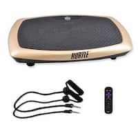 Hurtle HURVBTR60 Standing Vibration Fitness Machine, Vibrating Platform Exercise and Workout Trainer