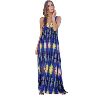 PilyQ Girl On Fire Parker Maxi Dress Cover-up