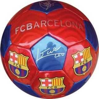 F.C. Barcelona Blaugrana Medium Soccer Ball (Size 2)