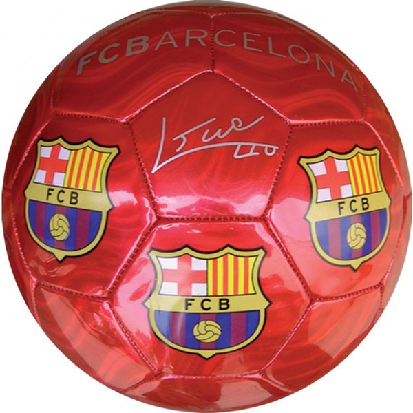 F.C. Barcelona Red Medium Size 2 Soccer Ball