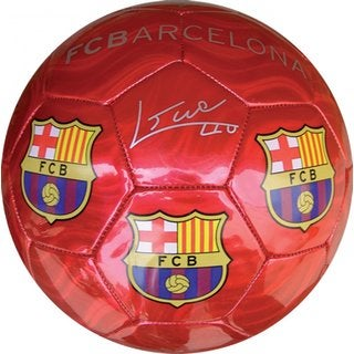 F.C. Barcelona Red Medium Size 2 Soccer Ball