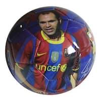 F.C. Barcelona Iniesta Size 5 Soccer Ball