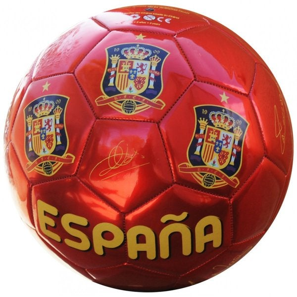 Seleccion Espanola Soccer Team Signature Size 2 Medium Ball