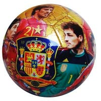 Seleccion Espanola Soccer Team Picture and Signature Size 5 Ball
