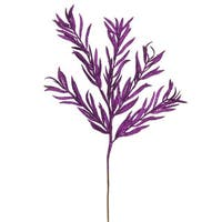 22-inch Purple Glitter Heather Sprays (Pack of 12)