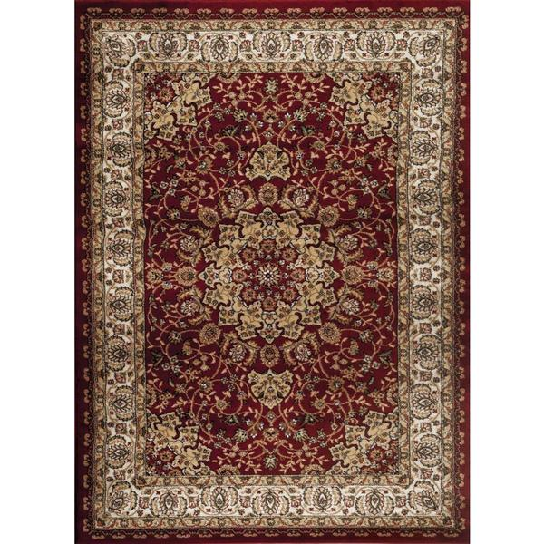 Shop Persian Rugs Traditional Oriental Styled Burgundy