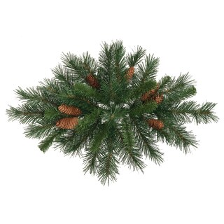 Vickerman 24-inch Cheyenne Swag with 37 Tips and Cones