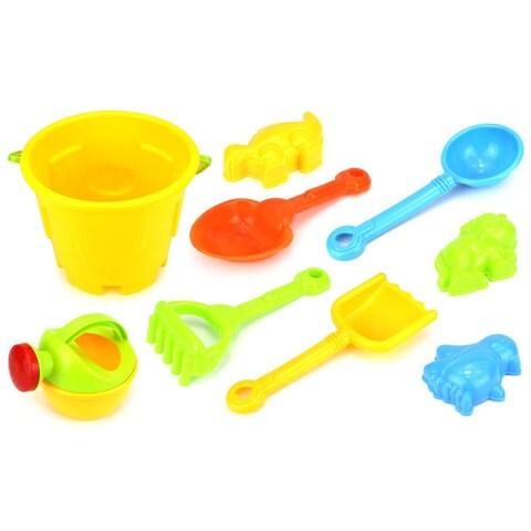 Velocity Toys Sand Superstar Bucket Children's Toy Beach Sandbox Sand Playset