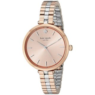 Kate Spade Women's 1YRU0860 'Holland' Two-Tone Stainless Steel Watch
