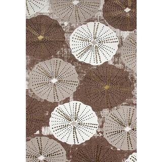 Persian Rugs Parasol/ Umbrella Design Beige Area Rug (7'10 x 10'6)