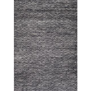 Persian Rugs Moroccan Trellis Tones of Grey Gray Area Rug (2'0 x 3'0)