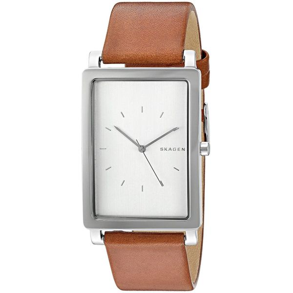 Skagen Men's SKW6289 'Hagen' Brown Leather Watch
