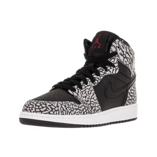 Nike Jordan Kids Air Jordan 1 Retro Hi Prem Bg Black/Gym Red/CMint /Anthracite Basketball Shoe