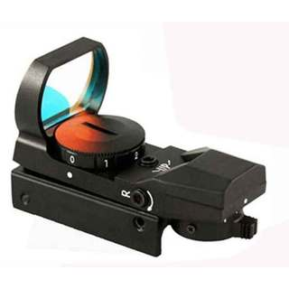 Trinity Reflex Red/Green 4-Reticle Tactical Paintball Marker Sight