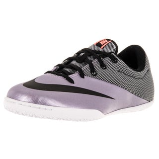 Nike Kids Jr Mercurialx Pro Ic Urban Lilac/Black/Brightt Mango Indoor Soccer Shoe
