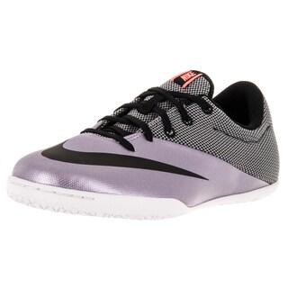 Nike Kids Jr Mercurialx Pro Ic Urban Lilac/Black/Brightt Mango Indoor Soccer Shoe