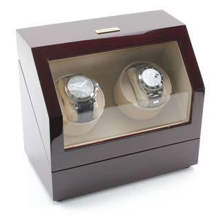 Heiden Cherry Battery-powered Dual Watch Winder|https://ak1.ostkcdn.com/images/products/12346817/P19175794.jpg?impolicy=medium
