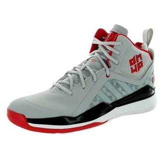 Adidas Men's D Howard 5 Clonix/White/Scarlett Basketball Shoe