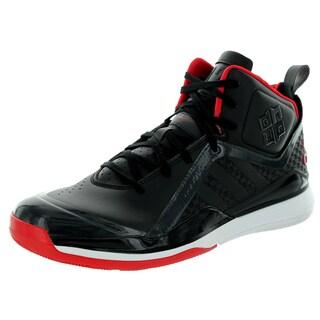 Adidas Men's D Howard 5 Black/Scarlett/White Basketball Shoe