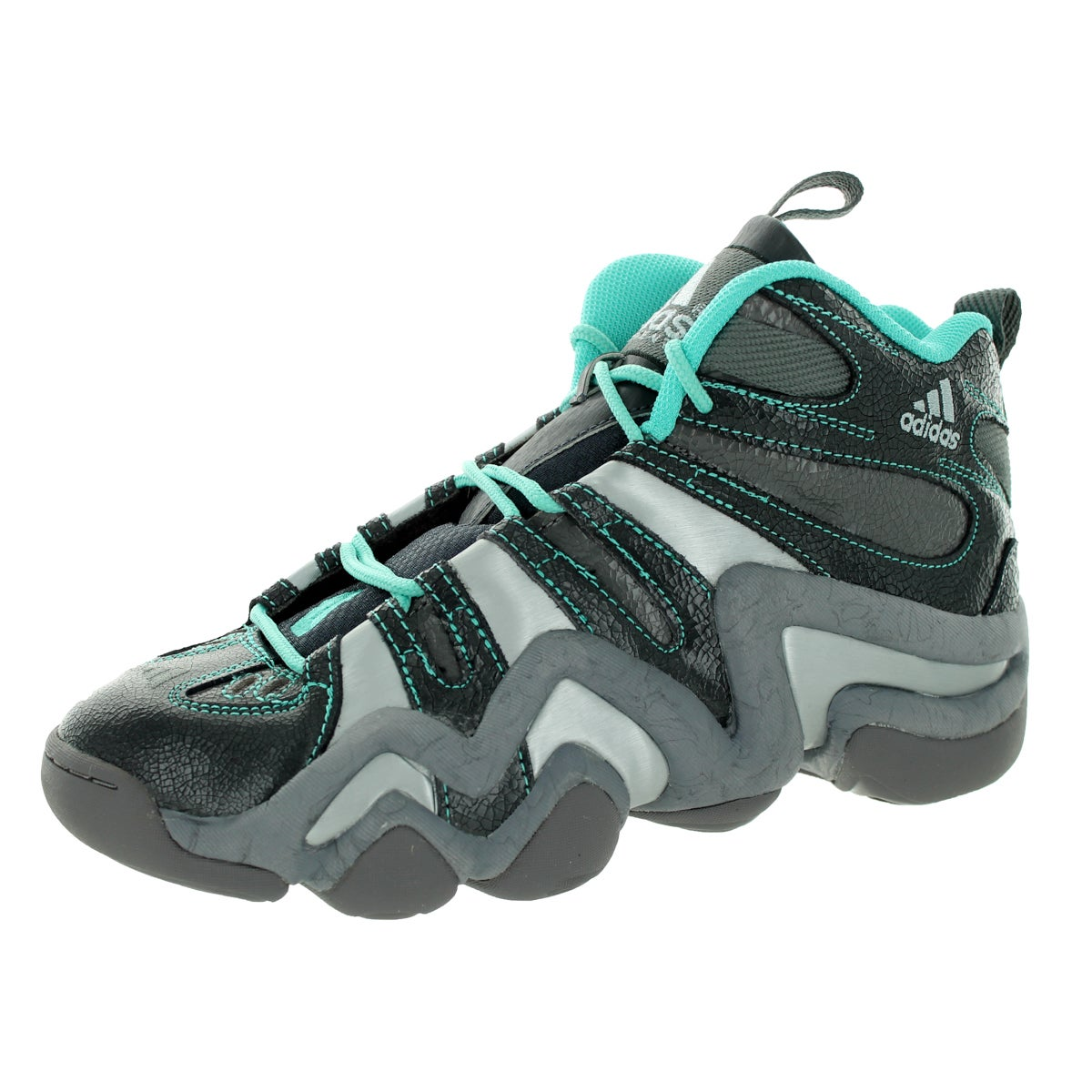 Adidas Men's Crazy 8 Grey/ Basketball Shoe (11) (Synthetic)