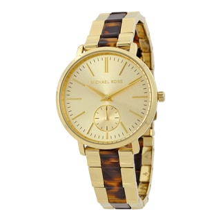 Michael Kors Women's MK3511 'Jaryn' Two-Tone Stainless steel and Acetate Watch