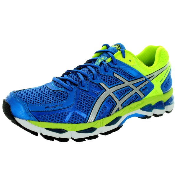 sports shoes 7a2d4 4fc92 Asics Men  x27 s Gel-Kayano 21 Royal Lightning Flash Yellow