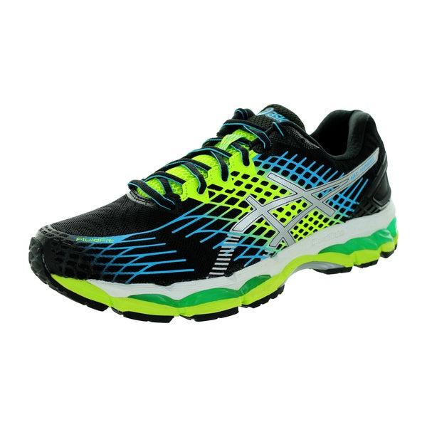 88669357126 Shop Asics Men's Gel-Nimbus 17 Onyx/White/Flash Yellow Running Shoe ...