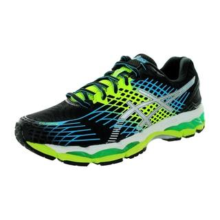 Asics Men's Gel-Nimbus 17 Onyx/White/Flash Yellow Running Shoe