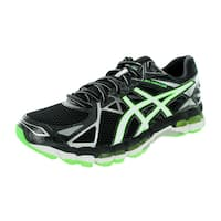 Asics Men's Gel-Surveyor 3 Black/White/Green Running Shoe