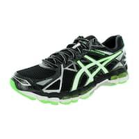 Asics Men's Gel-Surveyor 3 Black/White/Green Running Shoe