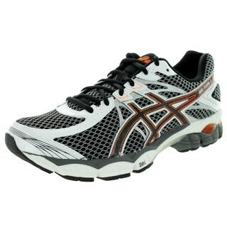 Asics Men's Gel-Flux 2 Onyx/Black/Flash Orange Running Shoe
