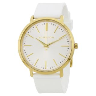 Michael Kors Women's MK2536 'Jaryn' White Silicone Watch