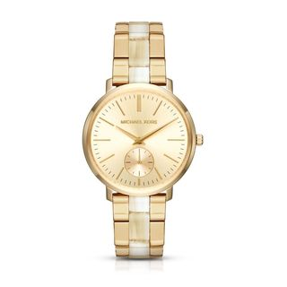 Michael Kors Women's MK3510 'Jaryn' Two-Tone Stainless steel and Acetate Watch