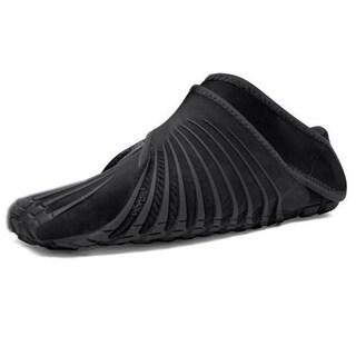 Vibram Unisex Furoshiki Black Rubber Shoes